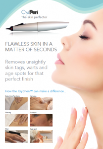 Cryopen - Safe removal of skin tags, warts, verrucae, pigmentation and Milia