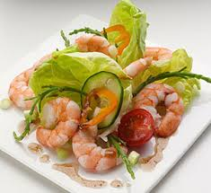 Healthy Choices - Prawn Salad